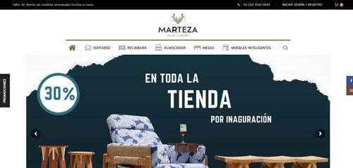 Taller Marteza Tienda Online Phase One Design