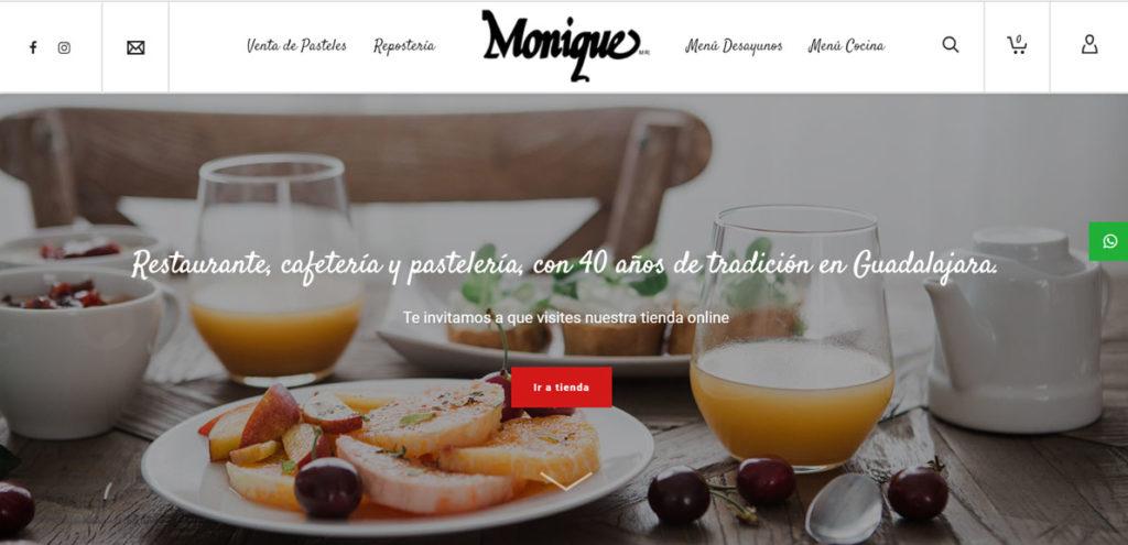 Creación de tiendas online Monique