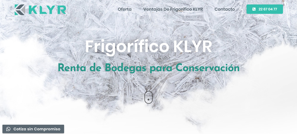 Klyr Sitio Web Por Phaseone Design