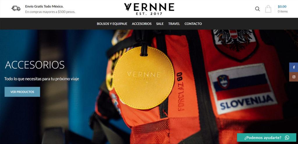 Vernne Travel Tienda Online