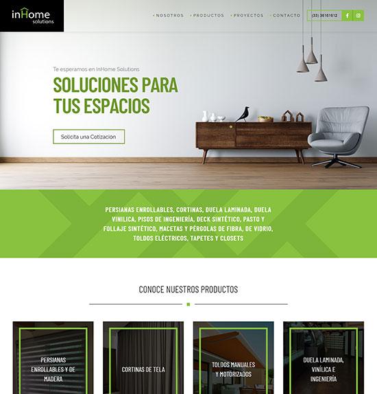 Solutions Pagina Web