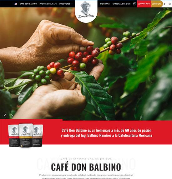 Tienda Online Cafe Don Balbino