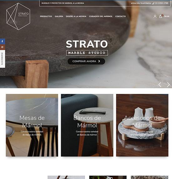Tienda Online Strato
