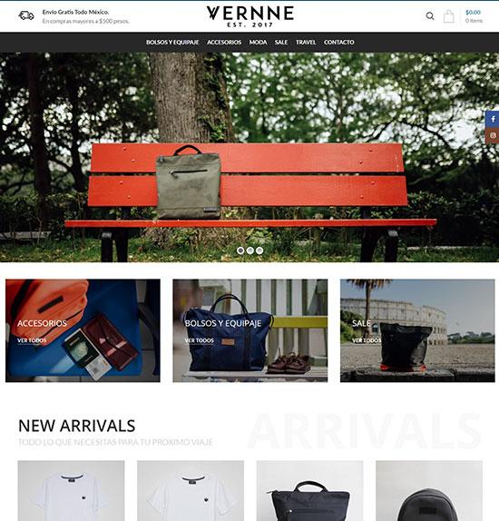 Tienda Online Vernne